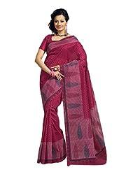Fabdeal Indian Wear Light Brown Cotton Printed Saree - B00KPVR1BA