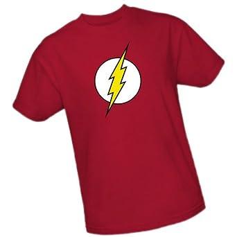 The Flash Logo -- DC Comics Adult T-Shirt, XXX-Large