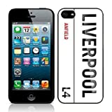 Call Candy Apple iPhone 5 / 5S Football Collection Liverpool L4 Glossy Hard Back Case by