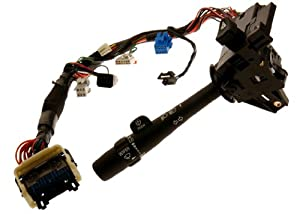 ACDelco D6245C GM Original Equipment Turn Signal, Headlight Dimmer, Windshield Wiper and Washer Switch with Lever