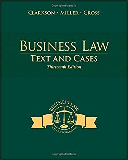 business law text and cases 12th edition test bank Business law text and cases 13th edition pdf free download business law pdf, business law text and cases benjamin v jpmorgan chase bank.