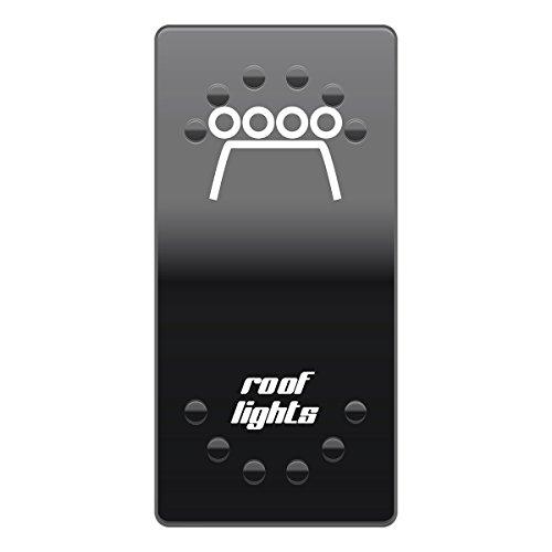 Wippenschalter Cover Roof lights horntools Offroad Switch Wipp Schalter Laserbeschriftet für Hintergrundbeleuchtung horntools Rocker Switch