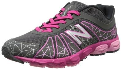 New Balance Unisex-Child Running Shoes KJ890MP Grey/Pink 3