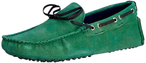 Famozi Famozi Men's Suede Leather Driving Loafers And Mocassins (Multicolor)