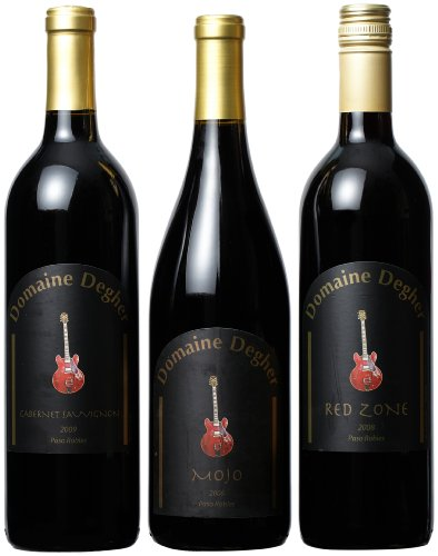 Domaine Degher Mojo Paso Robles Mixed Pack, 3 X 750 Ml