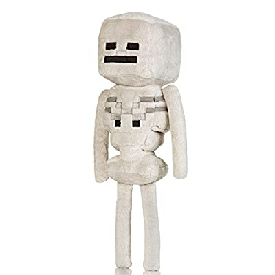 "Jinx Minecraft Overworld - Skeleton Plush, 12"" by Jinx"