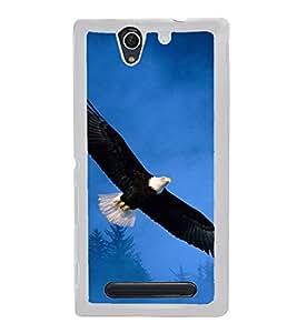 Eagle 2D Hard Polycarbonate Designer Back Case Cover for Sony Xperia C4 Dual :: Sony Xperia C4 Dual E5333 E5343 E5363