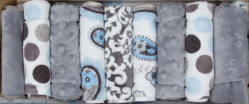 Minky Cuddle Quilt Kit Wee One Sweet Dreams Boy front-861921