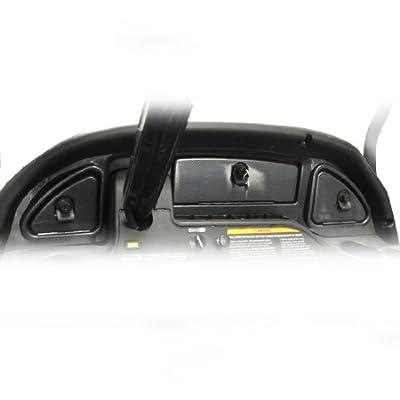 Golf Cart Carbon Fiber Dash - Fits 08+ Club Car Precedent