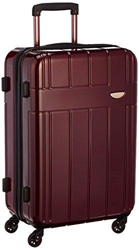 [エバウィン] EVERWIN 【Amazon.co.jp限定】軽量スーツケース 54L 3.3kg EW31234 BRC (ブラウンカーボン)