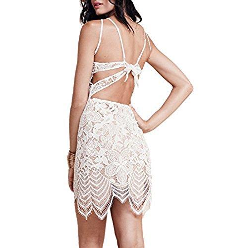 dearcase women�s summer dresses sleeveless backless guava