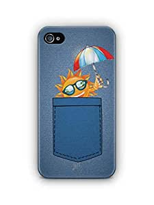 YuBingo Sun in Jeans Mobile Case Back Cover for Apple iPhone 4S