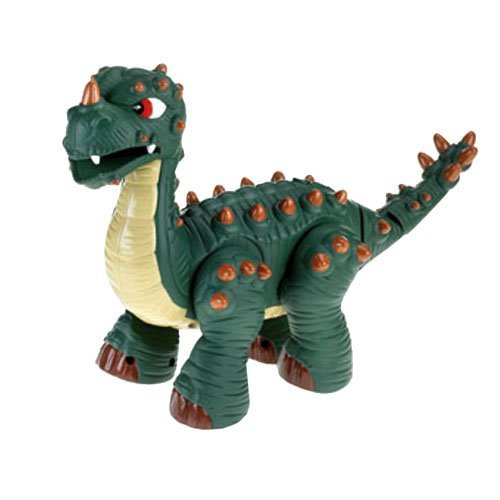 Fisher Price Spike Jr. the Ultra Dinosaur Walks & Roars