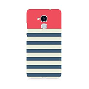 Ebby Stripes Pink Premium Printed Case For Huawei Honor 5c