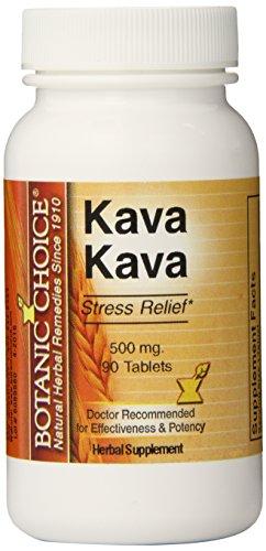 Botanic Choice Kava Kava, 90 Tablets  (Pack Of 5)