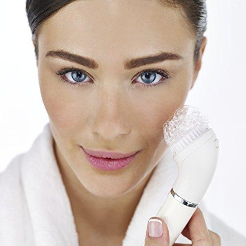 Epilatore e spazzola per la pulizia del viso Braun Face