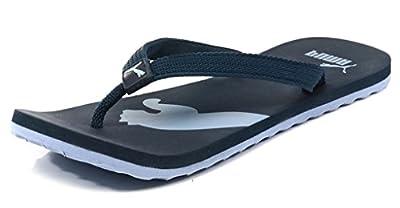 Puma Unisex Atlanta Blue PU Flip Flops