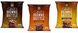 Sheila G\'s Brownie Brittle 12pack , 4-Chocolate Chip, 4-Toffee Crunch, 4-Salted Carmel, 1 Oz Each