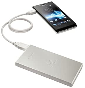 Sony CP-F2LSA Tragbare Stromversorgung für Smartphone/Tablet (7000mAh, micro-USB)
