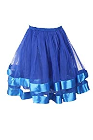 Topdress Women's 1950s Tutu Short Pet…