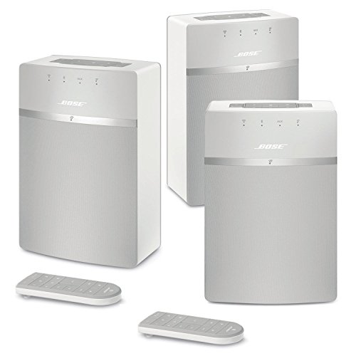 Bose SoundTouch 10 Wireless Music System Bundle 3-Pack - White