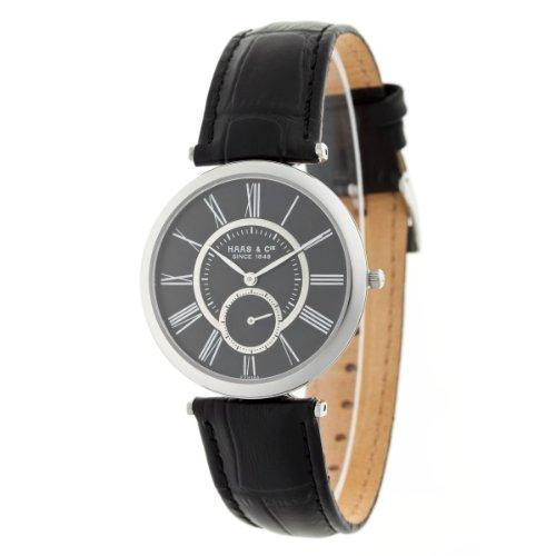 Haas  &  Cie Clement Men's Black Watch FYH389ZBA