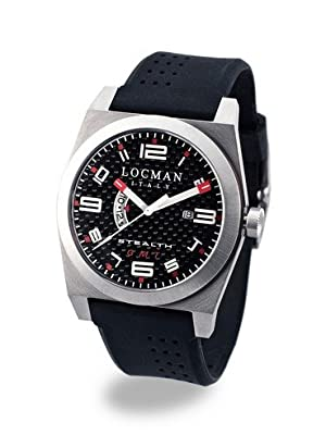 Locman Stealth Men``s 020000cbfrd1gok Stainless S