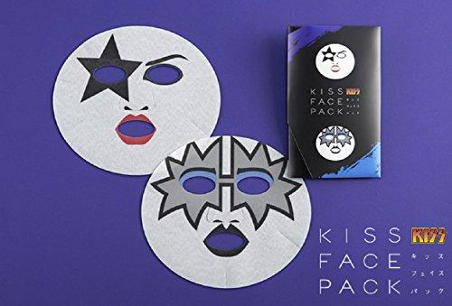 一心堂KISSFACEPACK KISSフェイスパック ポール・スタンレー&トミー・セイヤー