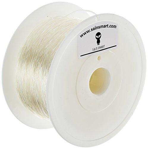 SainSmart-TPU-Flexible-3D-Drucker-Filament-Durchmesser-175-mm-Spool-Kapazitt-1-kg-Transparent