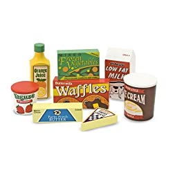 [Best price] Puzzles - Melissa & Doug Fridge Food Set - toys-games