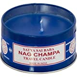 CANDLE - NAG CHAMPA TIN (Pack Of 6)