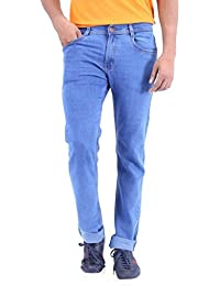 Stylox Men's Light Blue Slim Fit Jeans