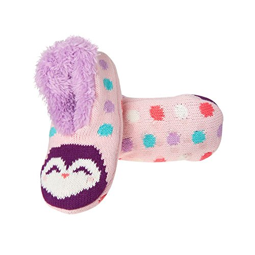 Gymboree Big Girls' Pink Penguin Slippers