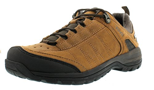 Teva Kimtah eVent Leather W's, Scarpe da escursionismo e trekking donna, Marrone (Braun (bison 561)), 40.5