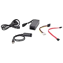 Adnet USB TO SATA/IDE USB to SATA Adapter Black