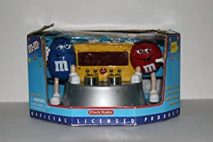 M&M's Clock Radio