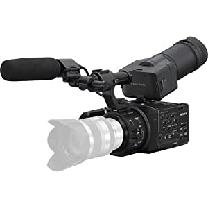 """Sony NEX-FS100U Super 35mm Sensor Camcorder (Body Only), 3.5"""" LCD Screen, 1920 x 1080p Slow and Quick Motion, Memory Stick, SD/SDHC/SDXC Recording"""