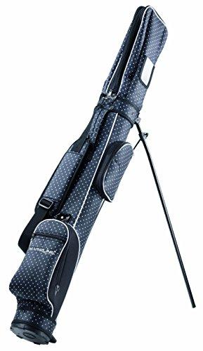 """Silverline Sunday Golf Pencilbag - Borsa da golf con supporto, edizione speciale """"Designo"""", nero a pois bianchi"""