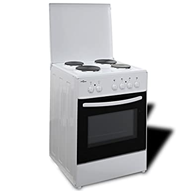 50343 Electric Free Standing Oven with 4 Hot Plates 60 x 60 cm - Untranslated