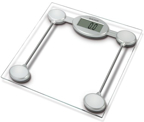 Salter 9018S SV3R Electronic Glass Platform Bathroom Scale