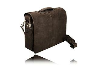 Visconti Stylish Quality 18760 Messenger Bag / Computer Laptop Handbag / Leather Bag