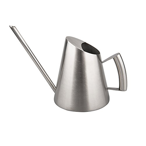 IMEEA® 32Oz Brushed Solid Stainless Steel Watering Can Modern Style Watering Pot (Indoor Plant Pot Stainless compare prices)