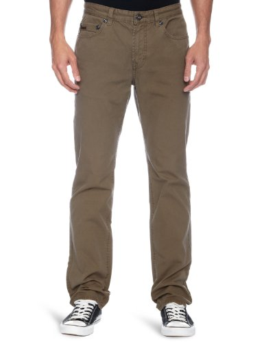 DKNY Compact Canvas Men's Trousers New Army W28 InxL In