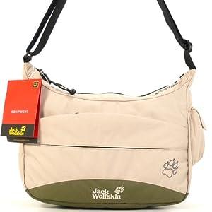 outlet later cheap prices Jack Wolfskin Boomtown Beige Damen Handtasche Tasche ...