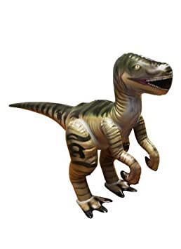 Jet Creations Inflatable Velociraptor Dinosaur Jr by Jet Creations TOY (English Manual)