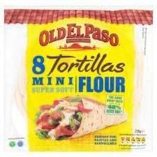 Amazon.com : Old El Paso 8 X Mini Super Soft Flour