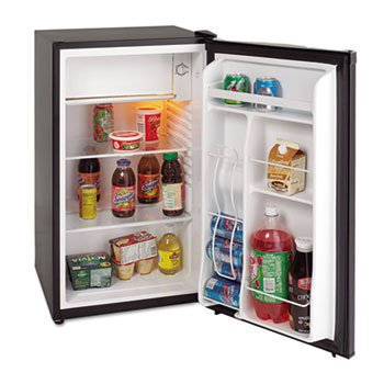 3.4 Cu.ft Refrigerator with Chiller Compartment, Black