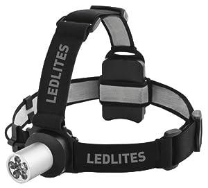 LEDLITES 7041TB Head Lamp (Silver/Black)