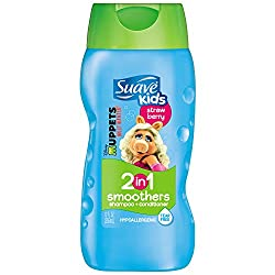 SUAVE KIDS 2 IN 1 SHAMPOO SMOOTHERS 355ML (12oz) - FAIRY BERRY STRAWBERRY
