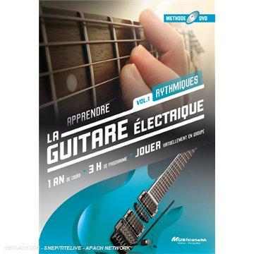 apprendre la guitare lectrique vol 1 m thode dvd. Black Bedroom Furniture Sets. Home Design Ideas